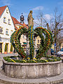 Schlüsselfeld-Easter fountain-P1060191PS.jpg