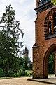 Schlosspark Babelsberg - Gerichtslaube - Blick zum Flatowturm - DSC4242.jpg