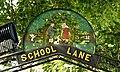 School Lane sign, Broughshane - geograph.org.uk - 1485165.jpg