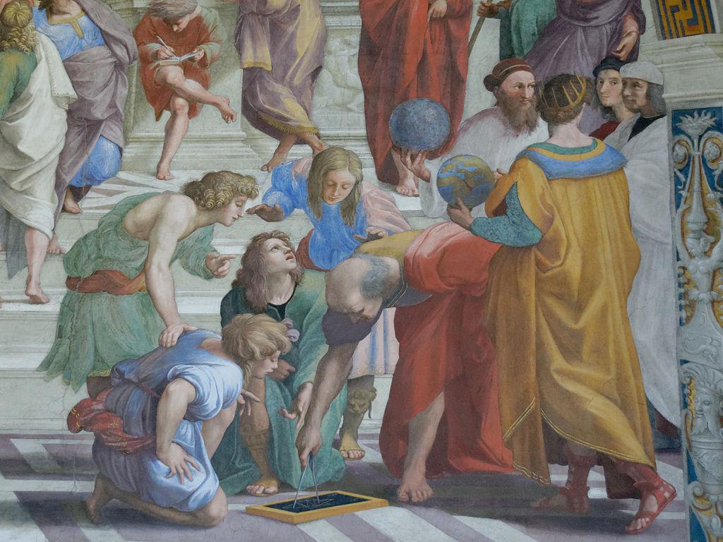 description school athens raphael From art history 101, raphael, school of athens (1509-1511), fresco, 579 × 824  cm.