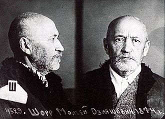 Moses Schorr - Moses Schorr after the arrest in 1941