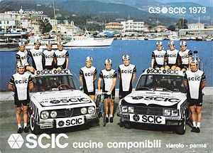 Scic (cycling team) - The Scic team of 1973