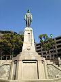 Sculpture of Shimazu Tadayoshi near Terukuni Shrine.jpg