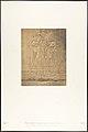 Sculptures extérieures du Santuaire de granit du palais de Karnac (Sacre de Philippe-Aridée par les Dieux Thot et Hor-hat) MET DP131881.jpg