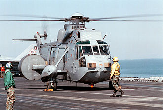 Westland Sea King - Royal Navy Sea King AEW2A in 1998