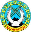 Official seal of Karaganda