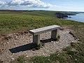 Seat on Hoist Point - geograph.org.uk - 1511583.jpg