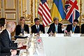 Secretary Kerry Addresses the Budapest Memorandum Ministerial on the Ukraine Crisis (12950337274).jpg