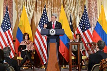 Secretary Kerry Delivers Remarks at the U.S.-Colombia High-Level Partnership Dialogue (12841381734).jpg