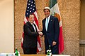 Secretary Kerry Greets Mexican Secretary of Foreign Affairs José Antonio Meade Kuribreña (10131974125).jpg