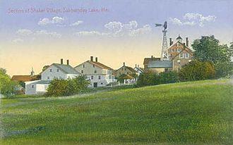 New Gloucester, Maine - Sabbathday Lake Shaker Village