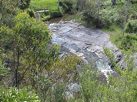 Selwyn Rock, South Australia, an exhumed glacial pavement of Permian age Selwyn Rock 2.JPG