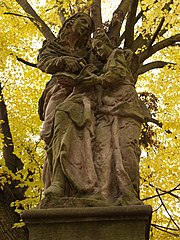 Socha svaté Anny