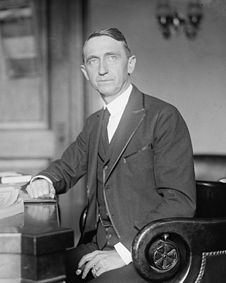 Walter F. George - George in 1922