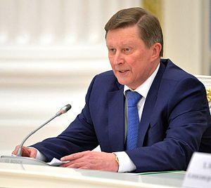 Sergei Ivanov - Image: Sergei Ivanov 2016