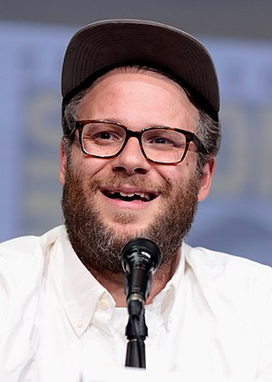 Seth Rogen - Rogen at the 2017 San Diego Comic-Con International
