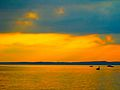 Setting Sun Over Lake Mendota - panoramio.jpg