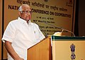 Sharad Pawar addressing the National Conference on Cooperatives for the celebration of International Year of Cooperatives, 2012, in New Delhi on May 15, 2012.jpg