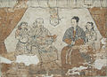 Shazishan Tomb Fresco, Yuan Dynasty, Chifeng Museum.jpg