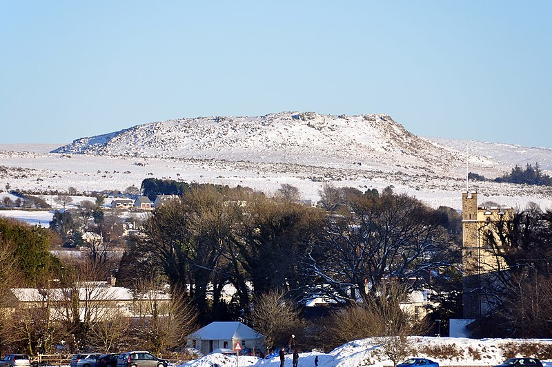 Sheeps Tor in snow