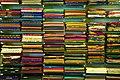 Shelves from a Saree shop (6543977625).jpg