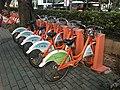 Shenzhen Public Bicycles near Shenzhen University Station.jpg