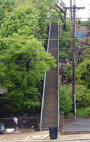 Shippen Street (Weehawken) - Image: Shippen Steps