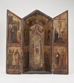 Shrine with the Crucifixion, Saints and Angels (Taddeo Gaddi) - Nationalmuseum - 20005.tif