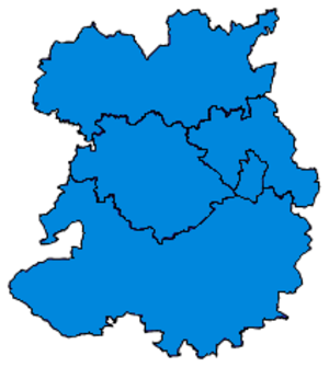 Parliamentary constituencies in Shropshire - Image: Shropshire Parliamentary Constituency 2015Results 2