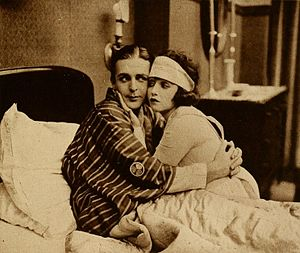 Sick Abed - Wallace Reid and Bebe Daniels in the film
