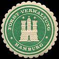 Siegelmarke Forst-Verwaltung Hamburg W0307969.jpg