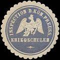 Siegelmarke Inspection der K.Pr. Kriegsschulen W0360147.jpg