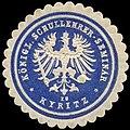 Siegelmarke Königliches Schullehrer-Seminar zu Kyritz W0262608.jpg