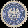 Siegelmarke K.Pr. Berg-Inspektion Lüneburg W0369412.jpg