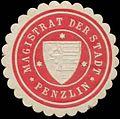 Siegelmarke Magistrat der Stadt Penzlin W0345387.jpg