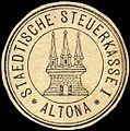Siegelmarke Staedtische Steuerkasse I - Altona W0221439.jpg