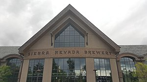 Sierra Nevada Brewing Company - Entrance to Mills River brewery