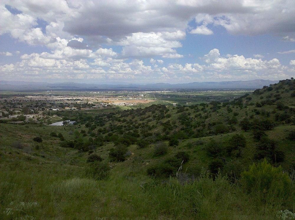 The population density of Sierra Vista in Arizona is 111.12 people per square kilometer (287.81 / sq mi)