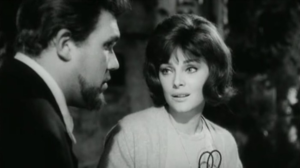 Gastone Moschin - Moschin and Virna Lisi in The Birds, the Bees and the Italians (1966)
