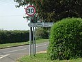 Signpost on the B660 - geograph.org.uk - 405883.jpg