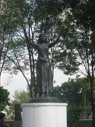Silvia Pinal - Silvia Pinal Statue in Mexico City, Mexico