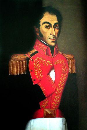Juan Lovera - Portrait of Simón Bolívar (1827)