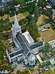 Singapore Cathedral St. Andrew viewed from The Stamford 2.jpg