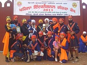 Gatka - Singhs at World Gatka Cup