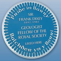 Photo of Frank Dixey blue plaque