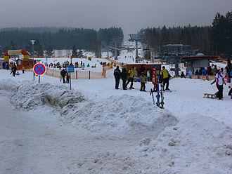 Bohemian Forest - Czech Ski Resort at Šumava