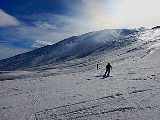 Province of Catania - Etna nord- Linguaglossa ski resort