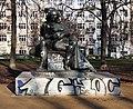 Skulptur Arnimplatz (Prenz) Bettina Achim von Arnim&Michael Klein&1997.jpg