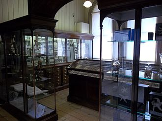 Royal Albert Memorial Museum - The study of Percy Sladen; his collection of echinoderms is one of the most significant outside any national collection.