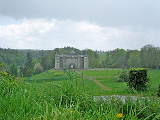 Slane Castle - Slane Castle seen from within its grounds